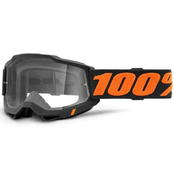 100% Accuri 2 MTB/MX Goggles - Chicago (Clear Lens)