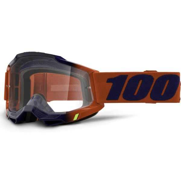 100% Accuri 2 MTB/MX Goggles - Kearny (Clear Lens)