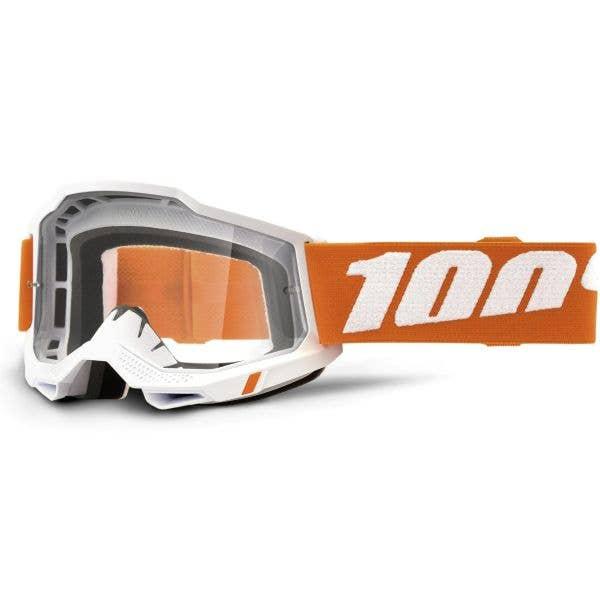 100% Accuri 2 MTB/MX Goggles - Sevastopol (Clear Lens)