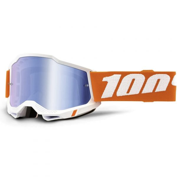 100% Accuri 2 MTB/MX Goggles - Sevastopol (Mirror Blue Lens)