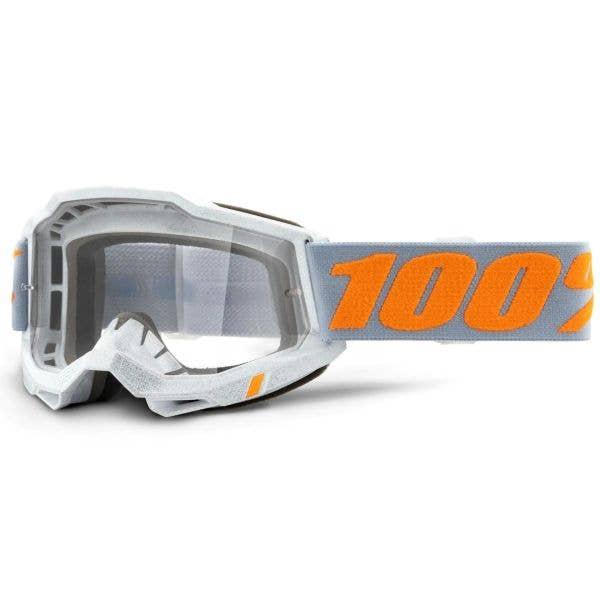 100% Accuri 2 MTB/MX Goggles - Speedco (Clear Lens)