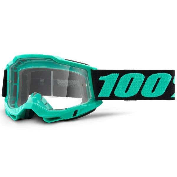 100% Accuri 2 MTB/MX Goggles - Tokyo (Clear Lens)