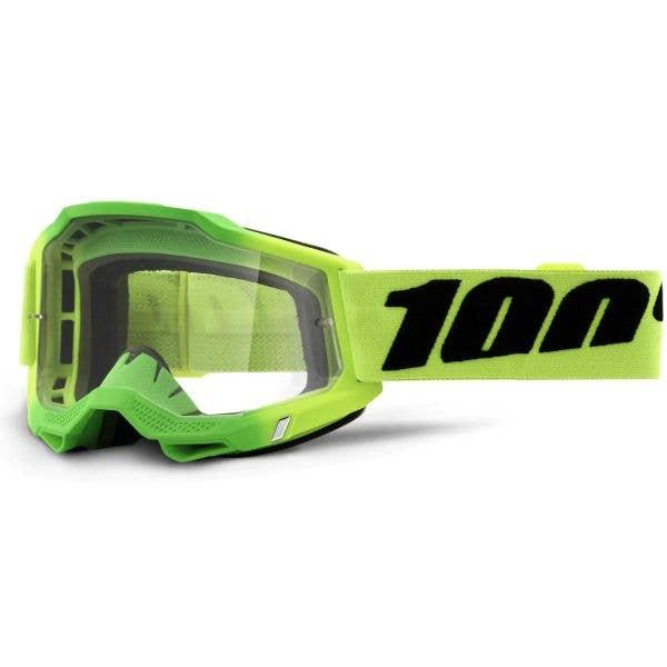 100% Accuri 2 MTB/MX Goggles - Travis (Clear Lens)