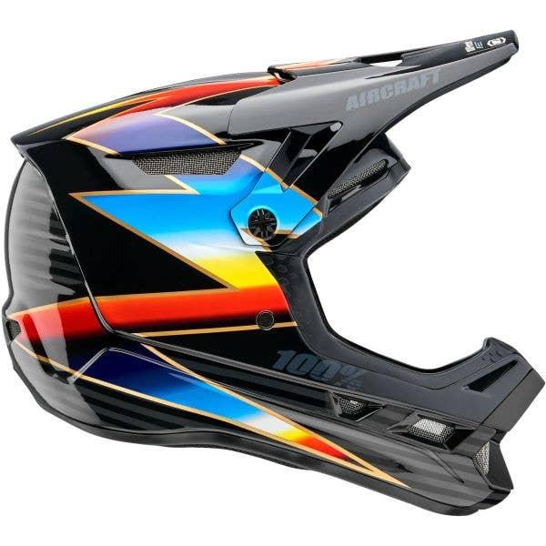 100% Aircraft Composite Full Face Downhill/BMX Helmet - Knox/Black