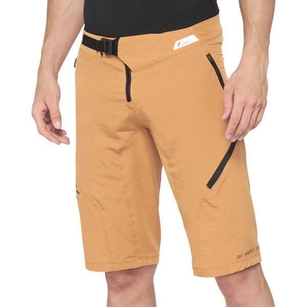 100% Airmatic Shorts - Caramel