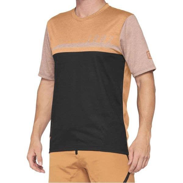 100% Airmatic Jersey - Caramel/Black