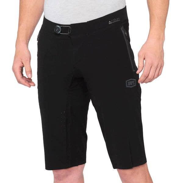 100% Celium Shorts - Black