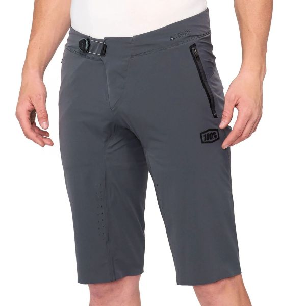 100% Celium Shorts - Charcoal