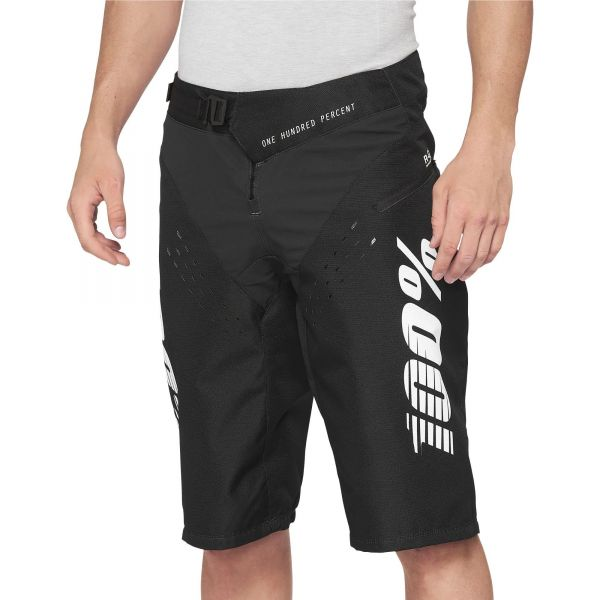 100% R-Core Youth Shorts - Black