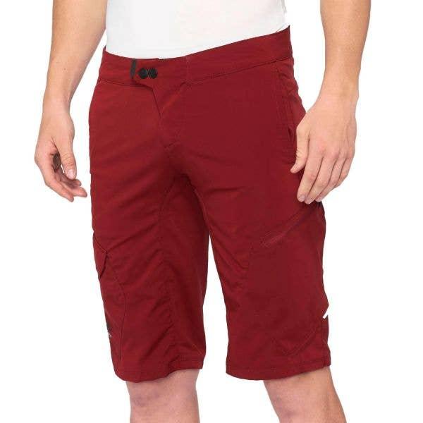 100% Ridecamp Shorts - Brick