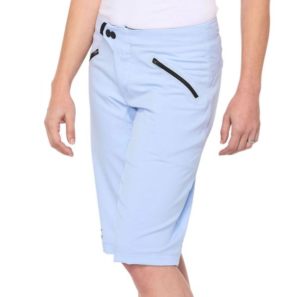 100% Ridecamp Womens Shorts - Powder Blue