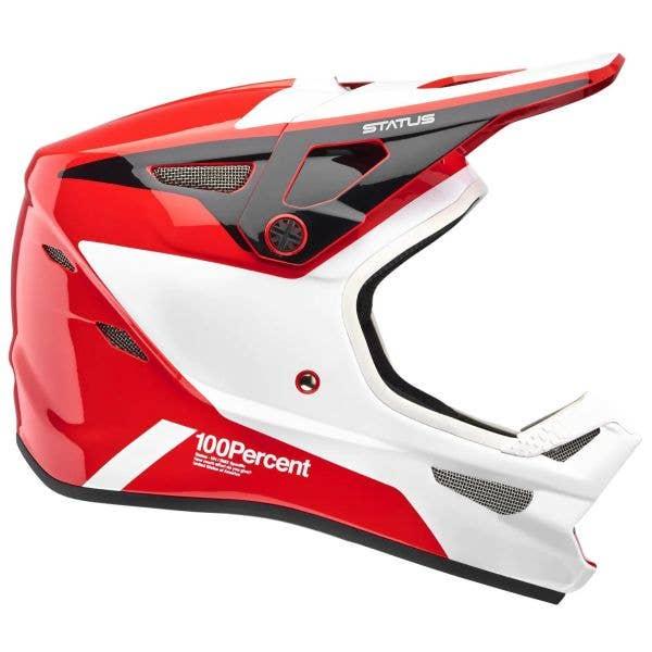 100% Status Youth Full Face Downhill/BMX Helmet - Hellfire