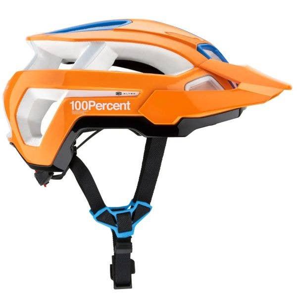 100% Altec w/ Fidlock Helmet - Neon Orange