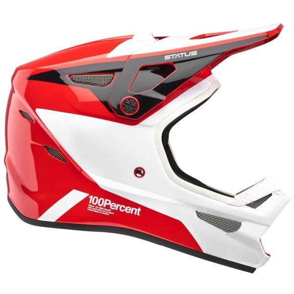 100% Status Full Face Downhill/BMX Helmet - Hellfire