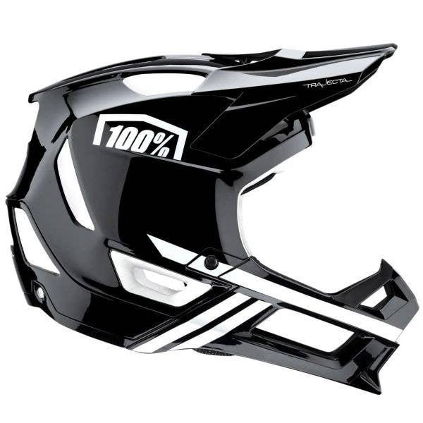 100% Trajecta w/Fidlock Full Face Downhill/BMX Helmet
