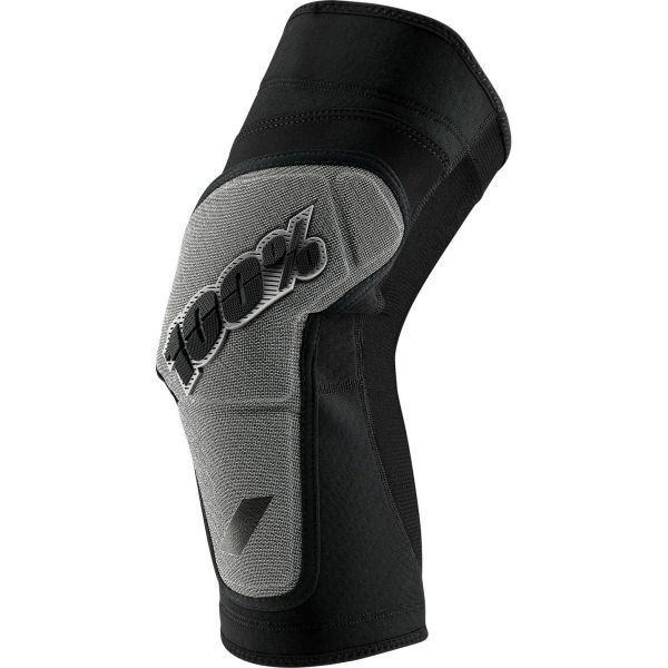 100% Ridecamp Knee Pads - Black/Grey