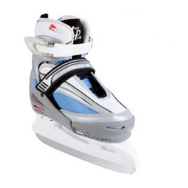 Lake Placid Mach 5 Girls Ice Skates - Large (UK4 - UK6)