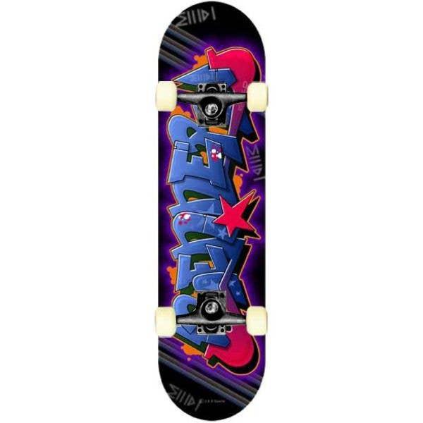 Renner A11 Series Blue Graffiti Complete Skateboard