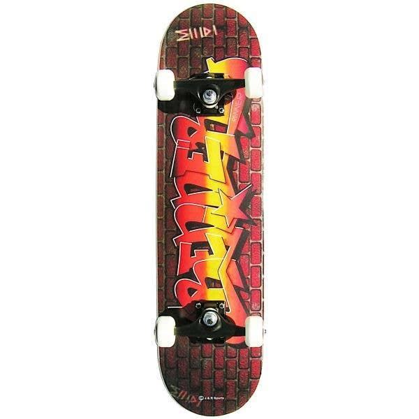 Renner A17 Series Graffiti Wall Complete Skateboard