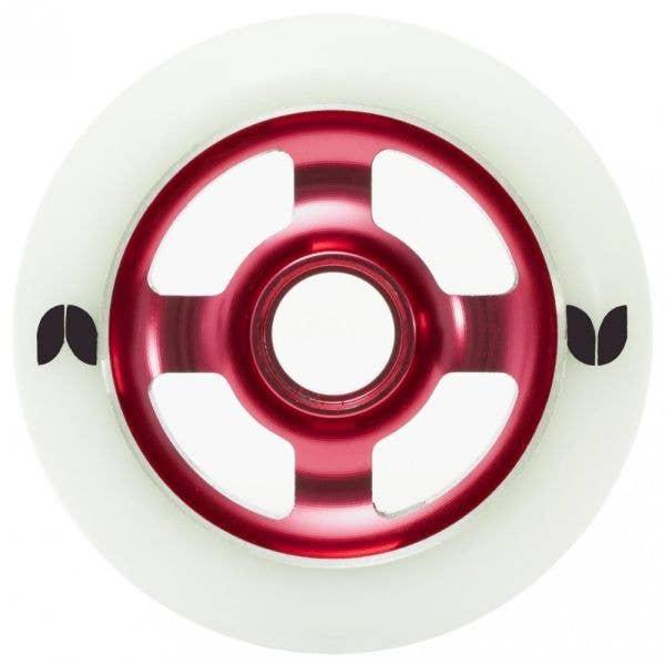 Blazer 4 Spoke Stormer Wheel - 100mm - Red