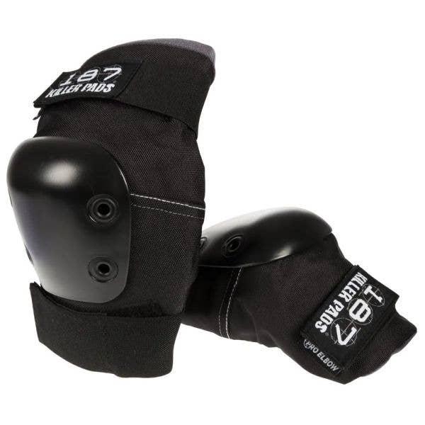 187 Killer Pro Elbow Pads - Black/Black