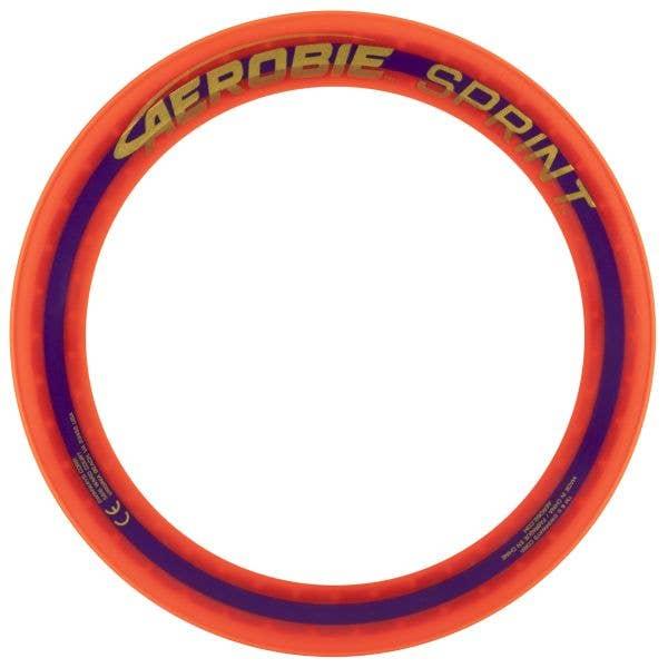 Aerobie 10'' Sprint Ring Frisbee - Orange