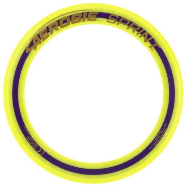 Aerobie 10'' Sprint Ring Frisbee - Yellow