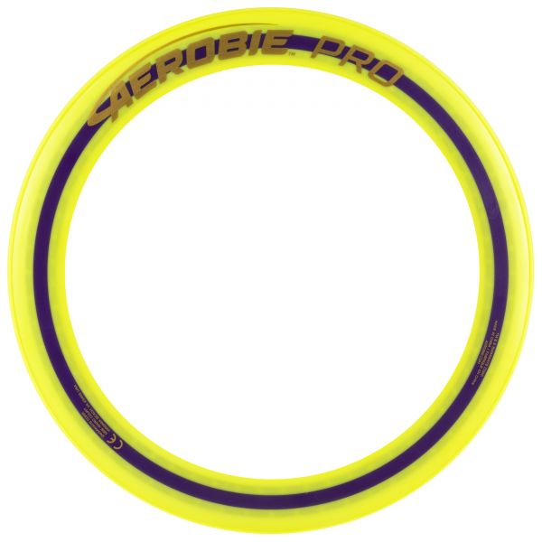Aerobie 13'' Pro Ring Frisbee - Yellow