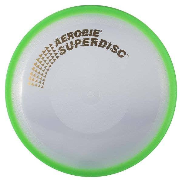 Aerobie Superdisc Frisbee - Green