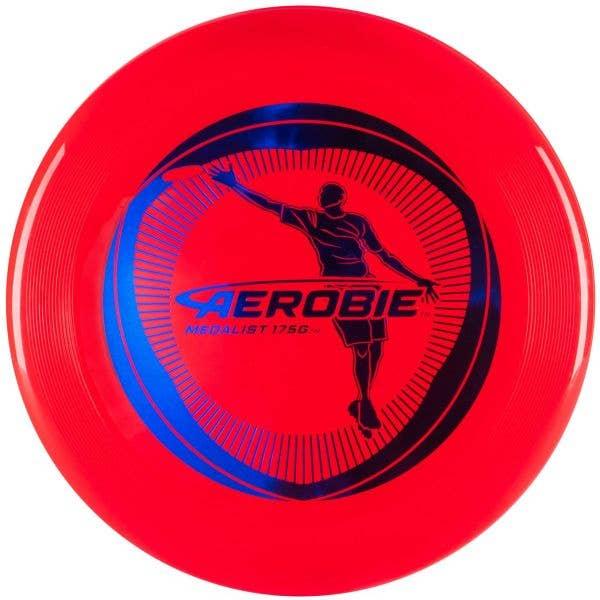 Aerobie Medalist 175G Flying Disc - Red