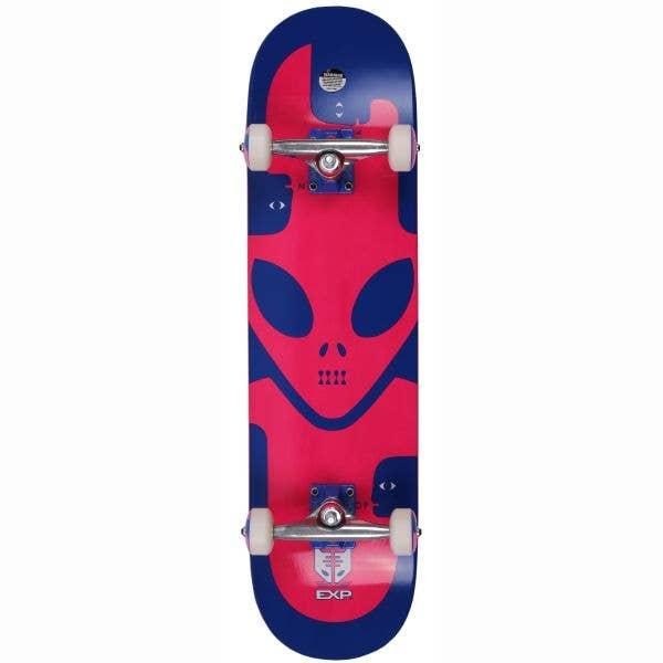 Alien Workshop EXP Mini Complete Skateboard - Blue 7.25''