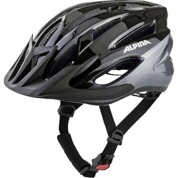 Alpina MTB17 Helmet - Black/Grey