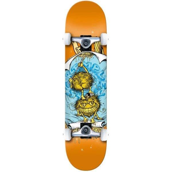 Anti Hero Grimple Glue Complete Skateboard - Orange 7.75''