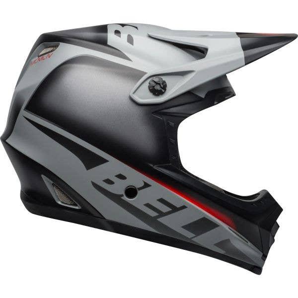 Bell Full-9 FUS MIPS 2019 Full Face Helmet - Matte Black/Grey/Crimson