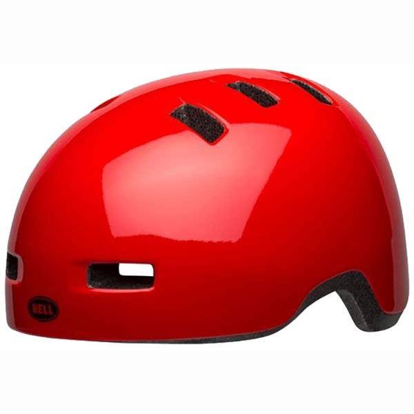 Bell Lil Ripper Toddler Helmet - Gloss Red