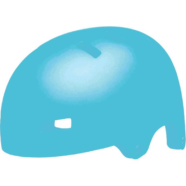 Bell Span Helmet - Matte Bright Blue