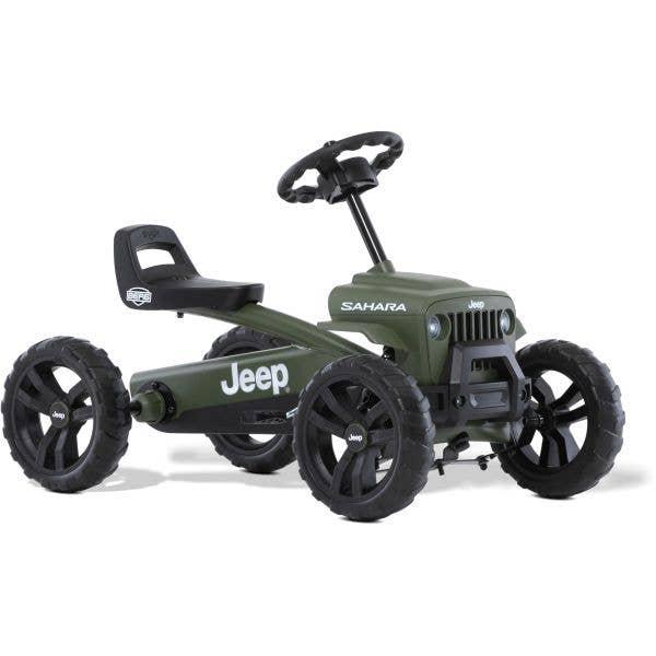 Berg Jeep Buzzy Sahara Ride On Pedal Kart - Green/Black