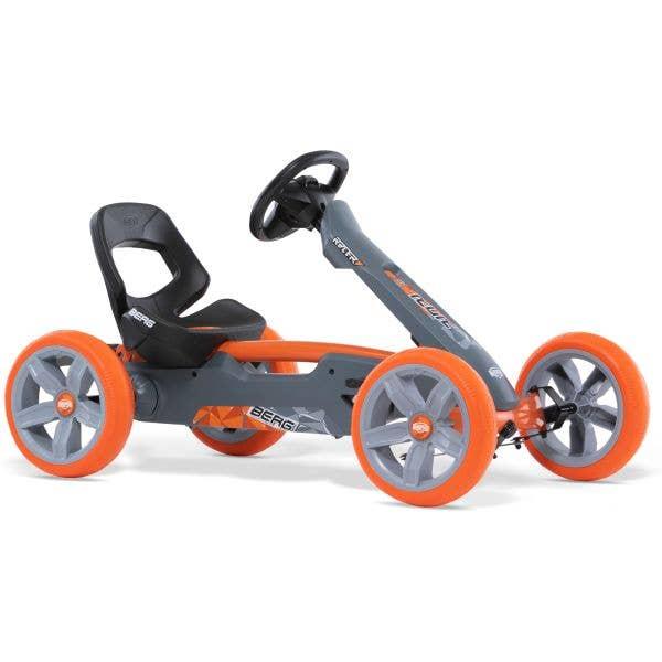 Berg Reppy Racer Ride On Pedal Kart - Grey/Orange