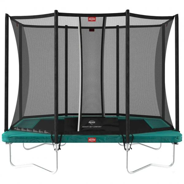 BERG Ultim Favorit Regular 280 Green Trampoline + Safety Net Comfort