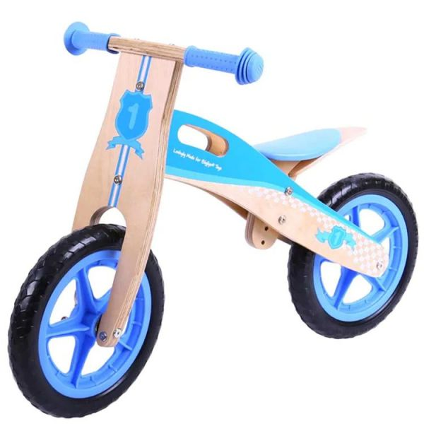 BigJigs Toys MyFirst Balance Bike - Blue
