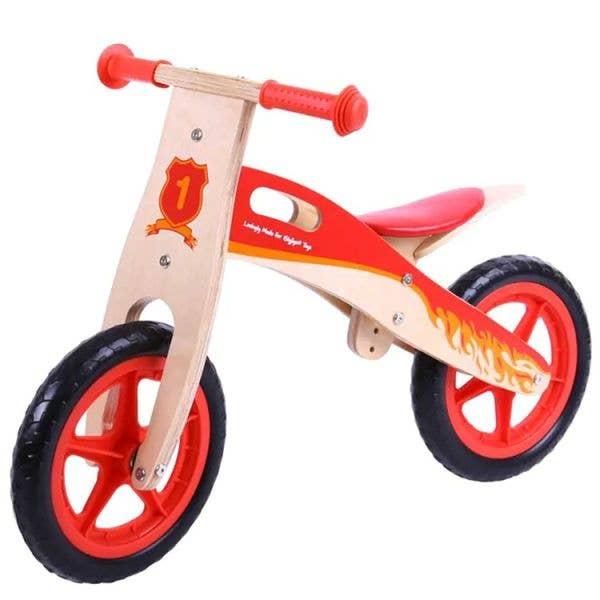 BigJigs Toys MyFirst Balance Bike - Red