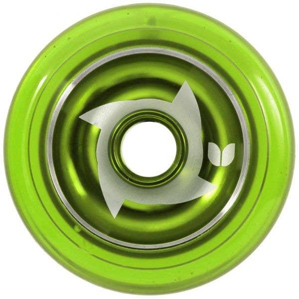 Blazer Pro Metal Core Shuriken Wheel - Green 100mm