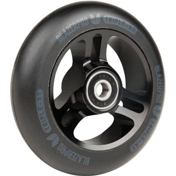 Blazer Pro Triple XT 100mm Scooter Wheel - Black/Black