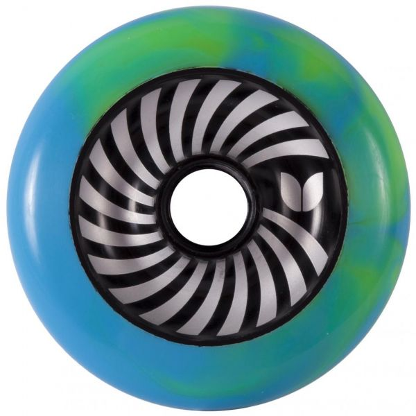 Blazer Pro Vertigo Swirl Wheel - Blue / Green 100mm