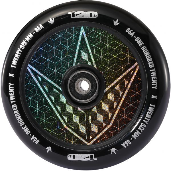 Blunt Envy 120mm Hollow Hologram Scooter Wheel - Geo