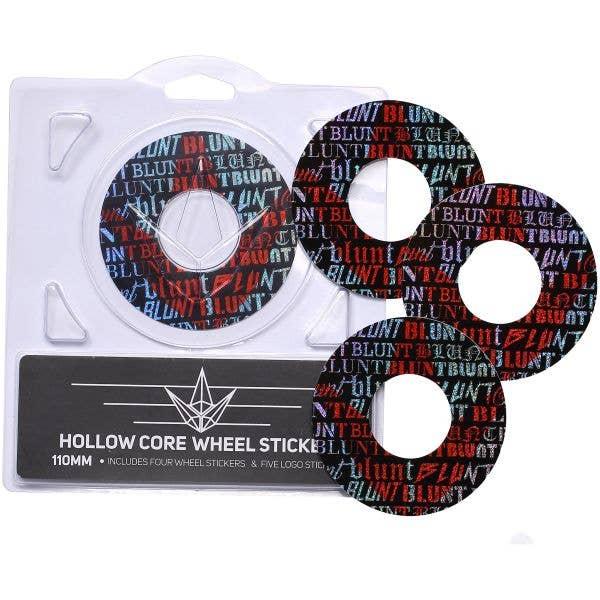 Blunt Envy 4 Pack Wheel Sticker - Hawk 110mm