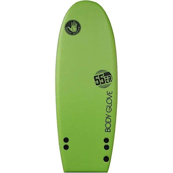 Body Glove 55'er Soft Top Mini Surfboard - Green/Black