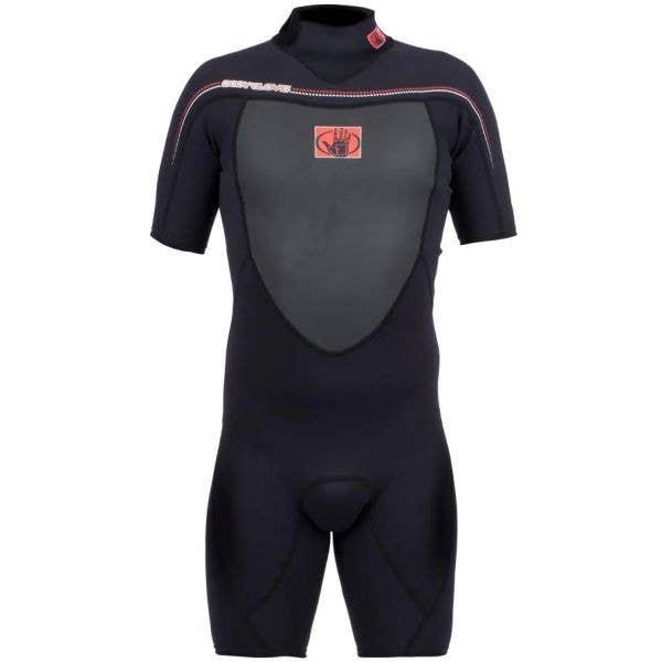 Body Glove Method 2.0 Back Zip Spring 2/1 Wetsuit - Black (Small)