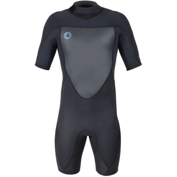 Body Glove Phoenix Back Zip Spring 2/2 Wetsuit - Black (Medium Short)