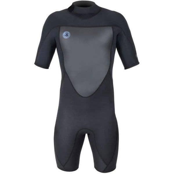 Body Glove Phoenix Back Zip Spring 2/2 Wetsuit - Black (Medium)